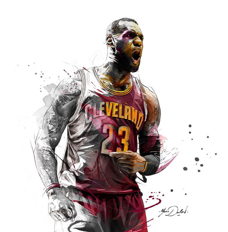 Lebron James Iphone Wallpaper