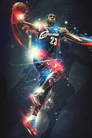 Lebron James Mobile Wallpaper