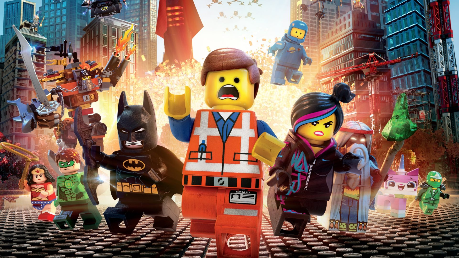 Lego Movie Wallpaper HD