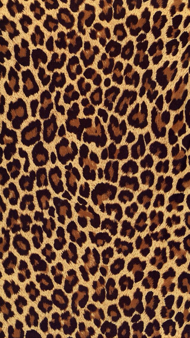 Leopard Print Iphone Wallpaper