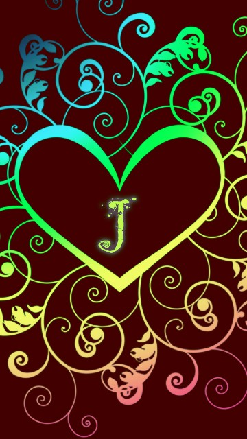 Download Letter J Wall...J Letter Wallpaper