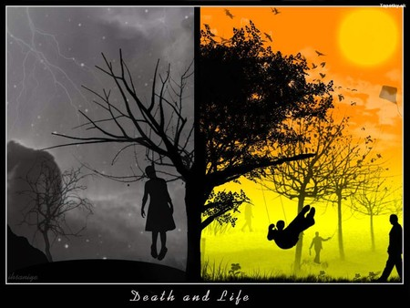 Life And Death Wallpaper