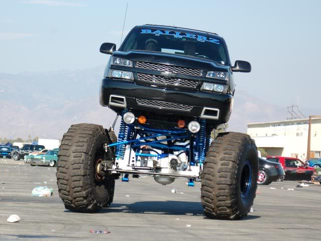 Lifted Chevy Truck Wallpaper