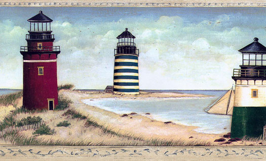 Lighthouse Wallpaper Borders