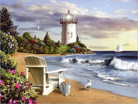Lighthouses Wallpaper