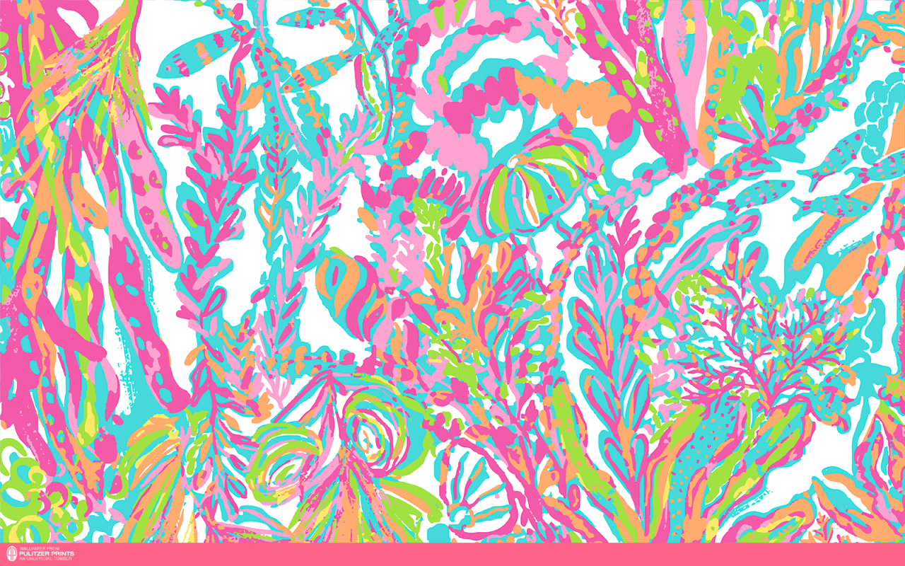 Lilly Pulitzer Laptop Wallpaper