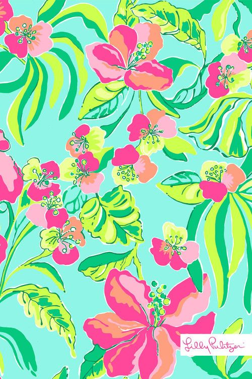 Lilly Pulitzer Phone Wallpaper