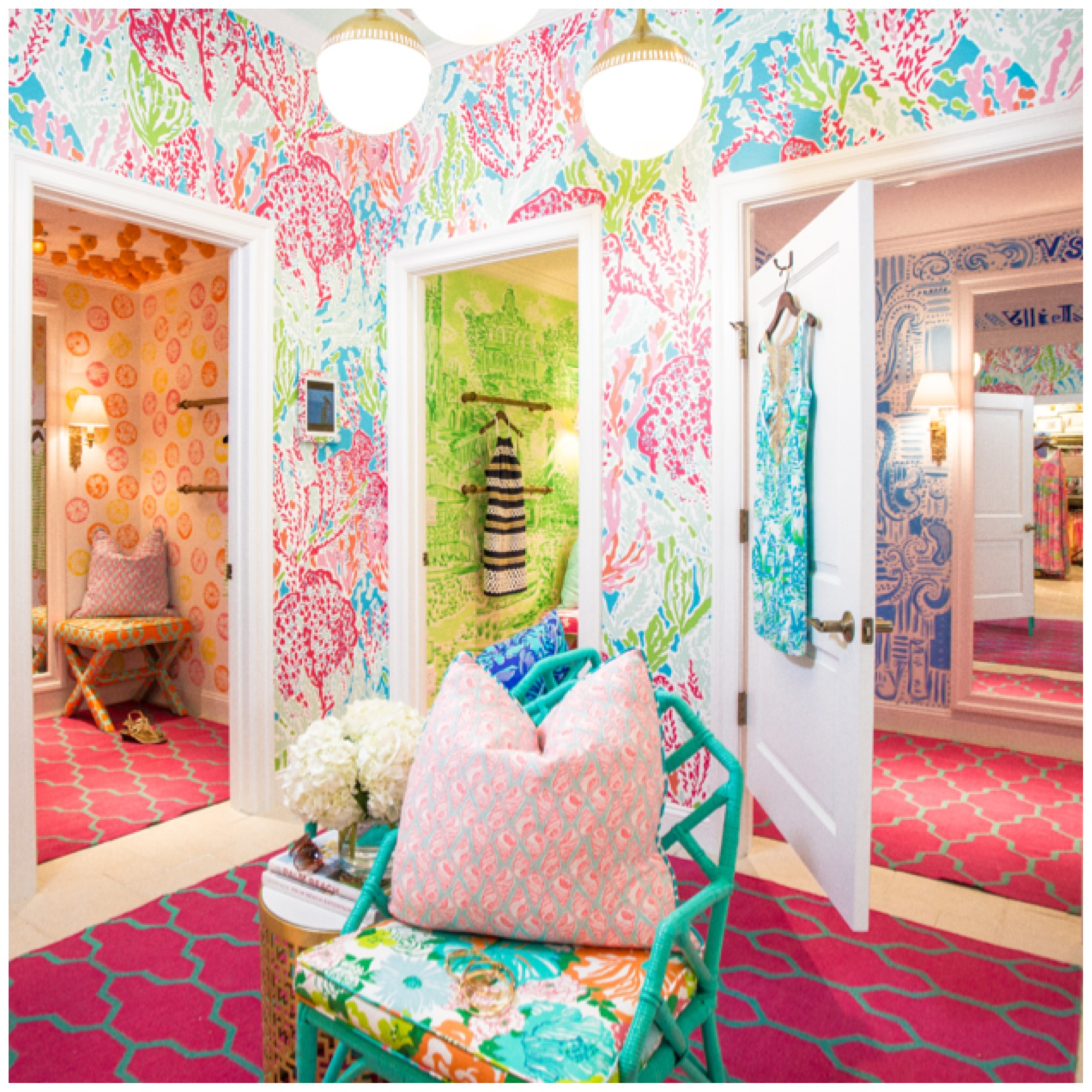 Lilly Pulitzer Wallpaper Home