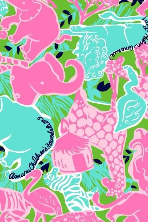 Lilly Pulitzer Wallpaper Iphone