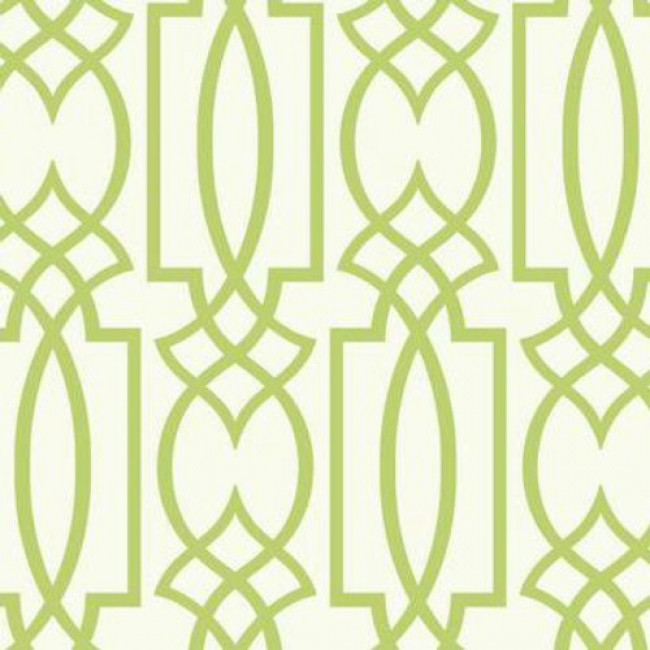 Lime Green Geometric Wallpaper