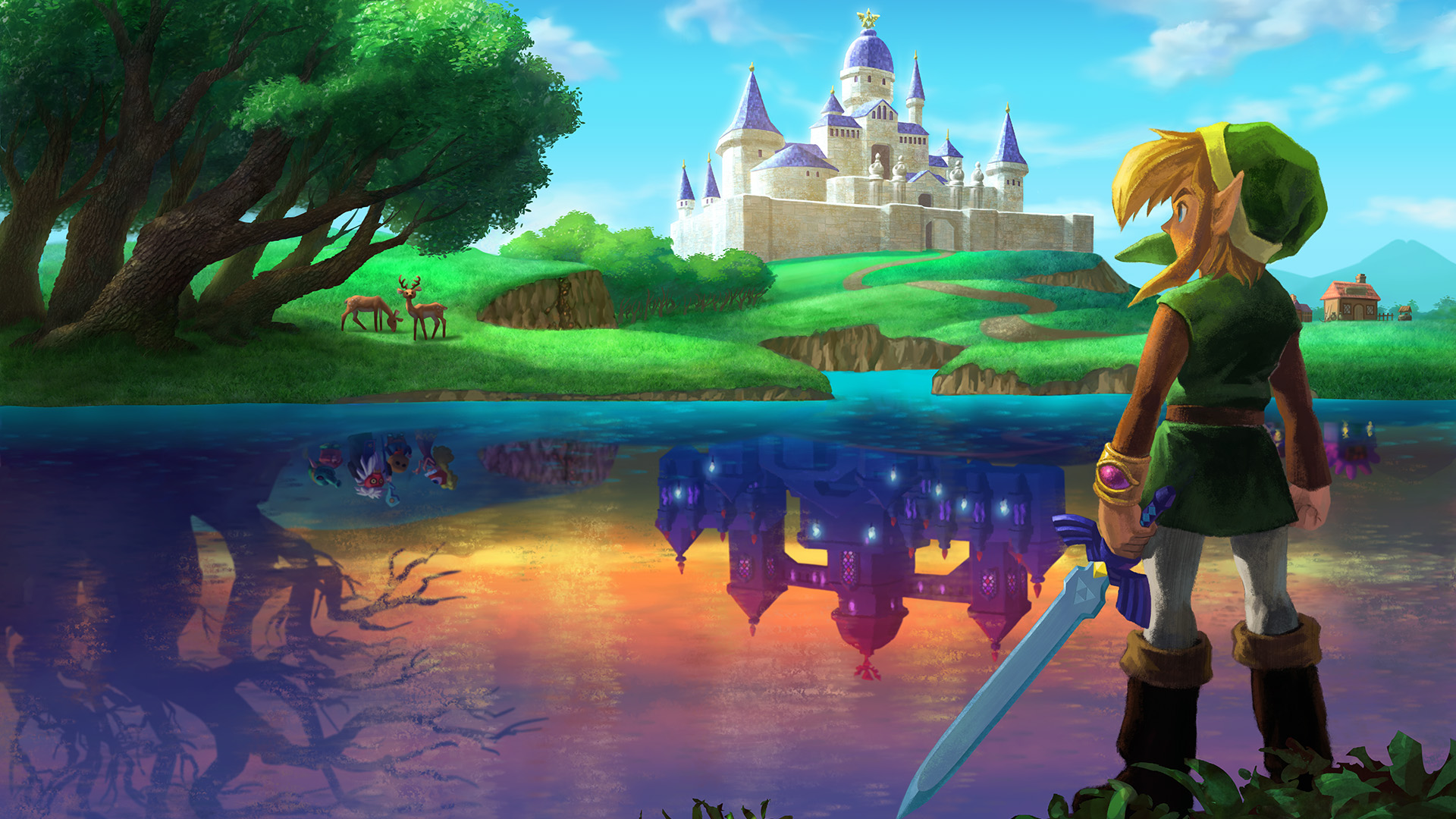 Link Between Worlds Wallpaper