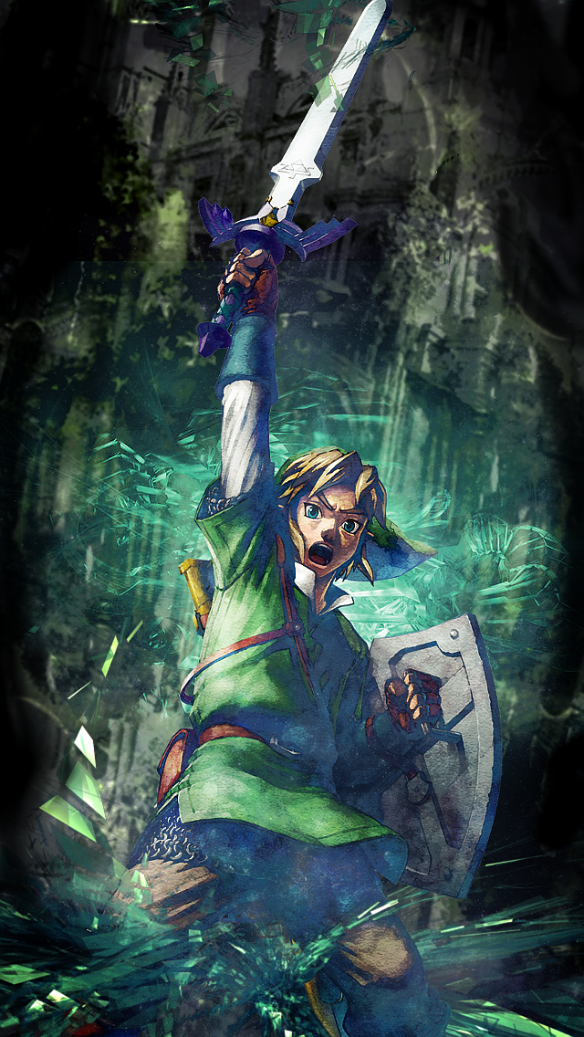 Link Wallpaper Iphone