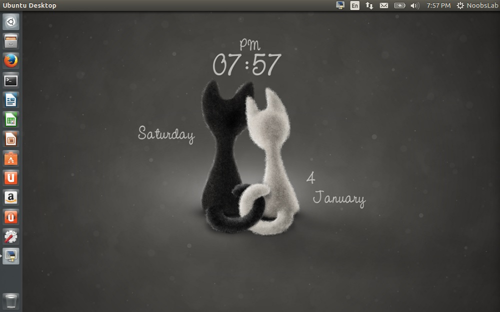 Linux Mint Animated Wallpaper