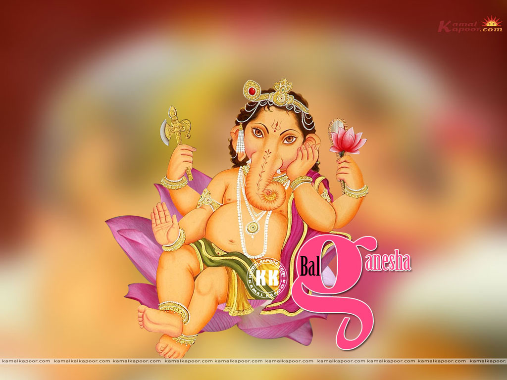 Little Ganesha Wallpaper