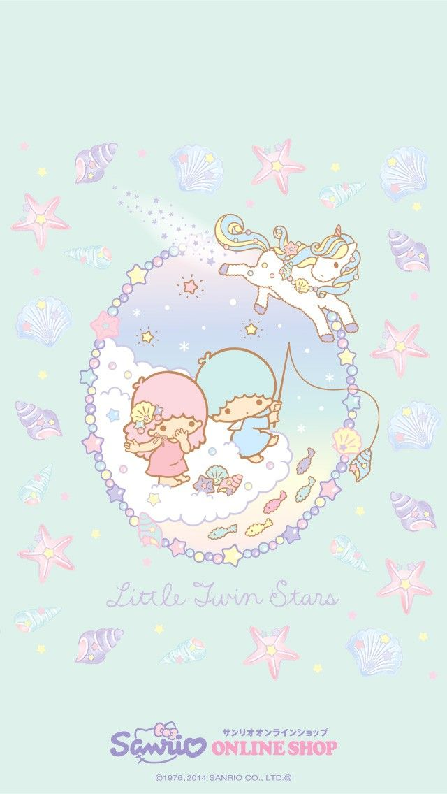 Download Little Twin Stars Wallpaper
