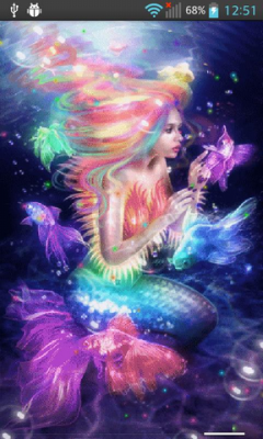 Live Mermaid Wallpaper