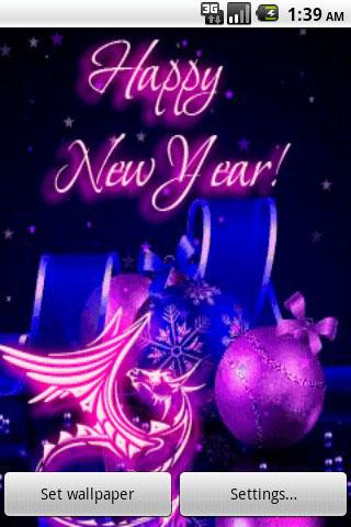 Live New Years Wallpaper