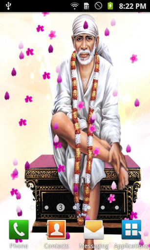 Live Sai Baba Wallpaper