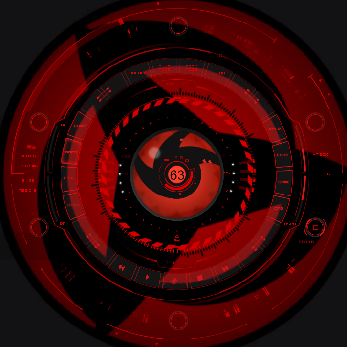 Live Sharingan Wallpaper