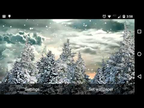 download live snow wallpaper gallery