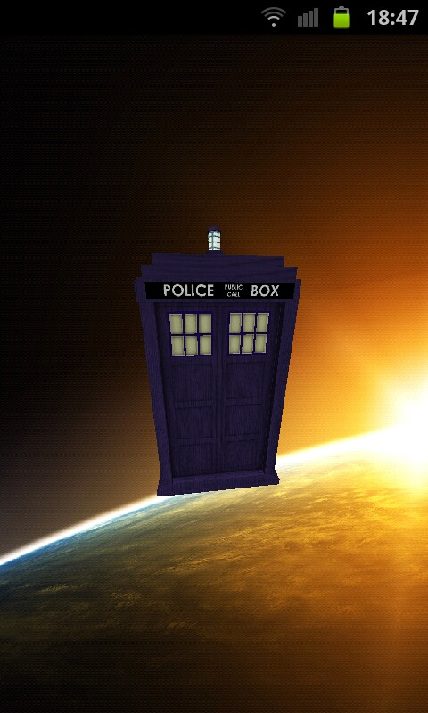 Live Tardis Wallpaper