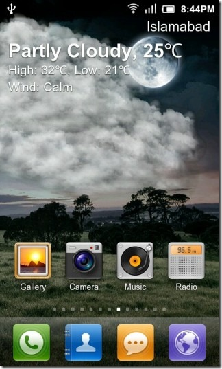 Live Wallpaper According To Weather