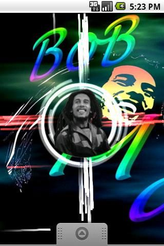 Live Wallpaper Bob Marley