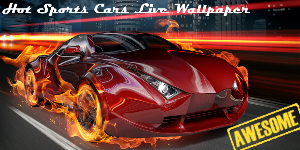 Live Wallpaper Car Racing