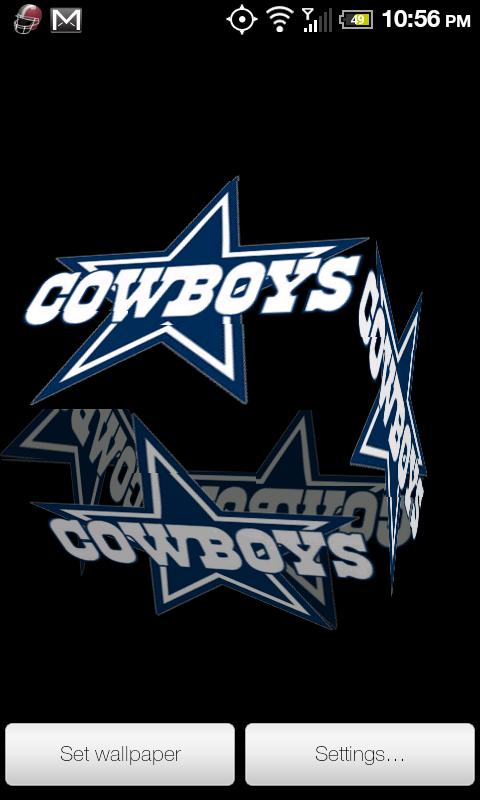 Live Wallpaper Dallas Cowboys
