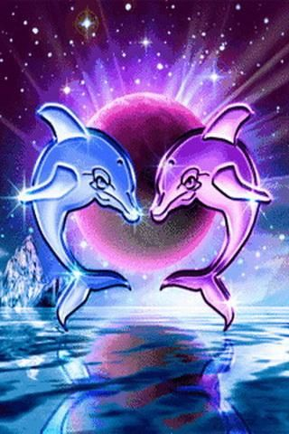 Live Wallpaper Dolphins