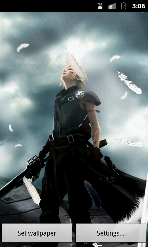 Live Wallpaper Final Fantasy