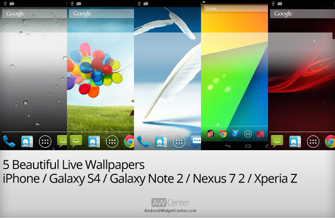 Live Wallpaper For Note 2