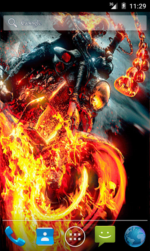 Live Wallpaper Ghost Rider