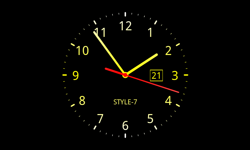 Live Wallpaper Of Clock