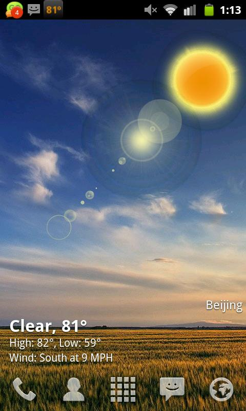 download live wallpaper of weather gallery