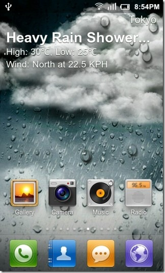 Live Wallpaper Of Weather