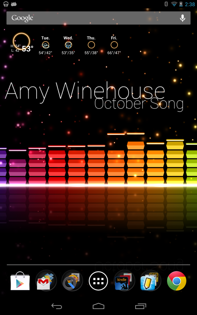 Live Wallpaper That Reacts To Music