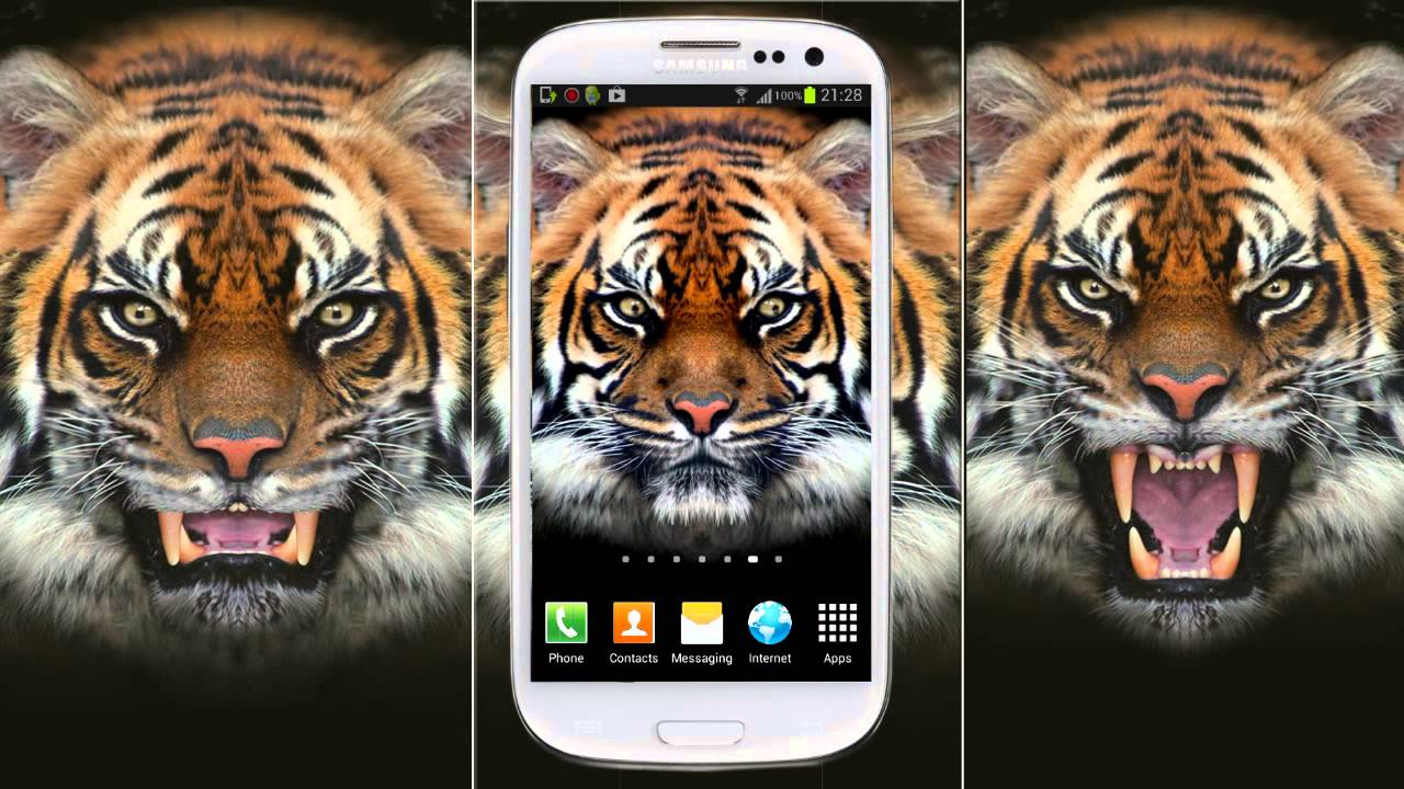 Live Wallpaper Tiger