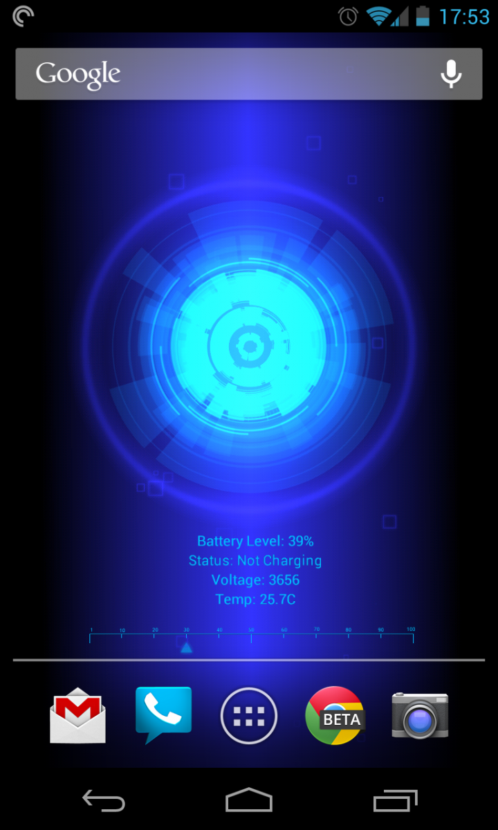 Live Wallpapers Battery