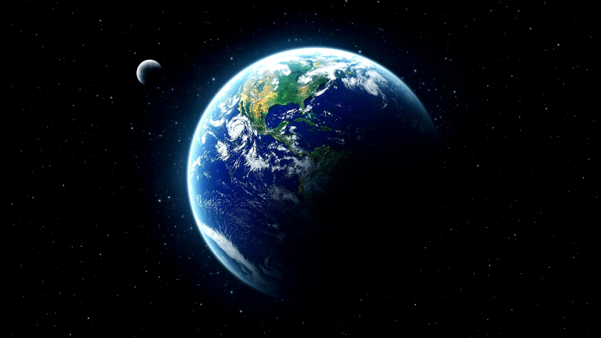 Living Earth Wallpaper