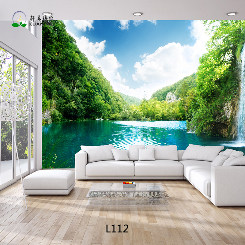 Living Room 3D Wallpaper