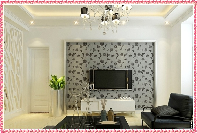 Living Room Wallpaper Designs