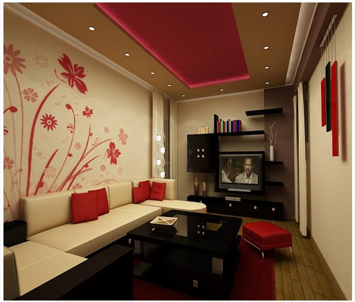 Download Living Room Wallpaper Designs India Gallery