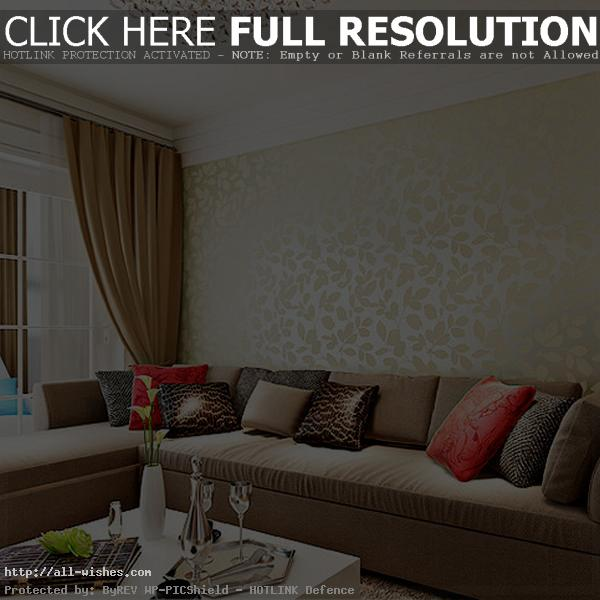 Living Room Wallpapers Designs