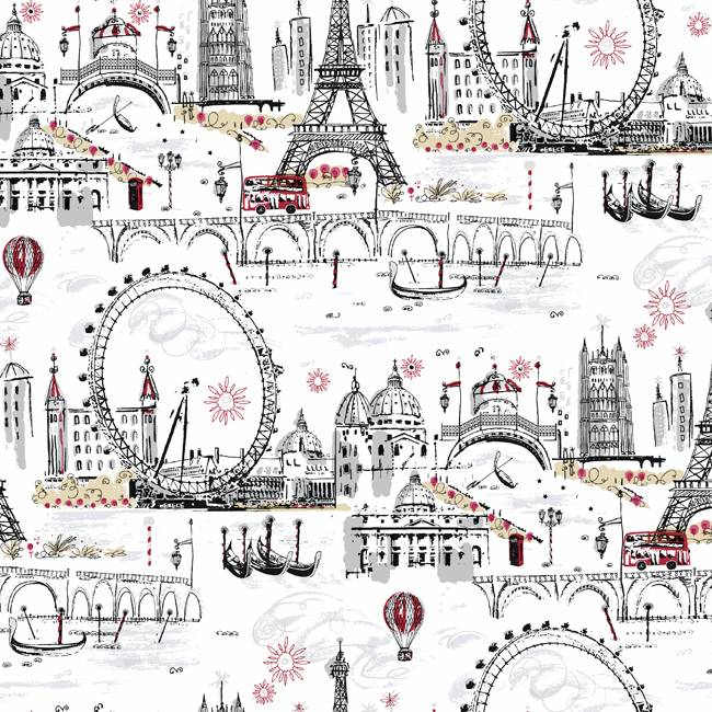 London Paris Wallpaper