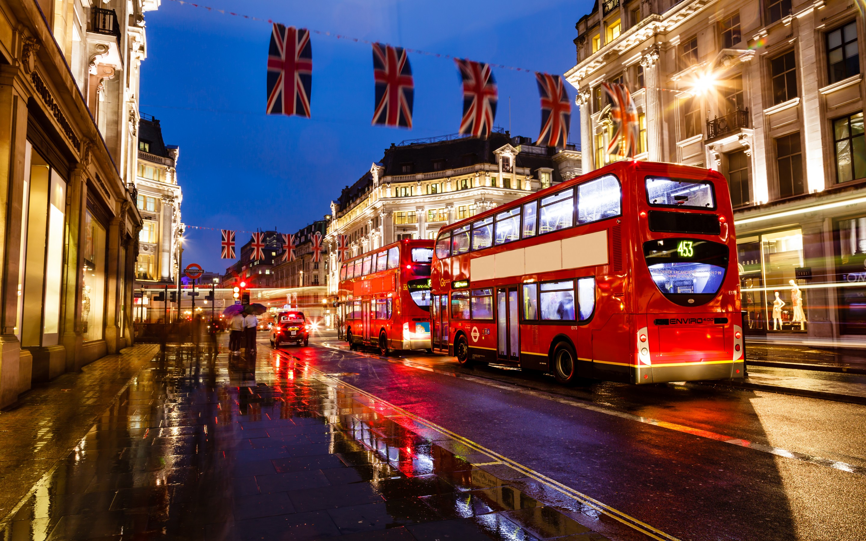 London Streets Wallpaper
