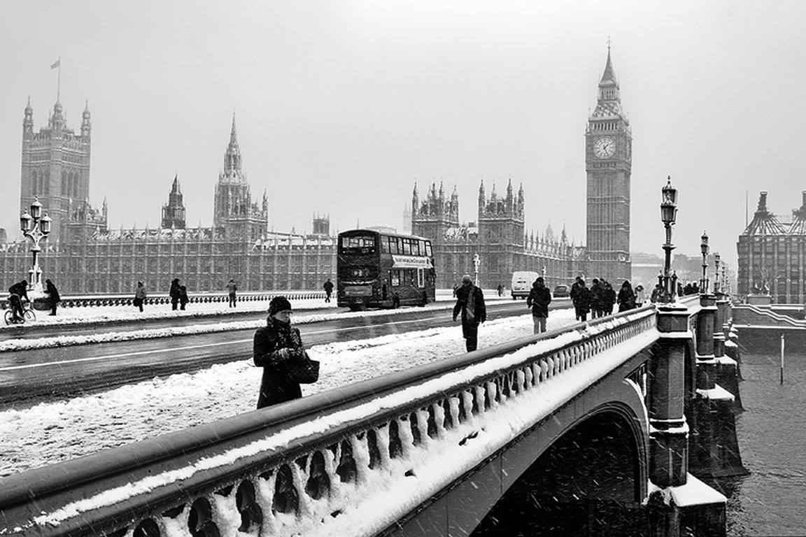 London Winter Wallpaper
