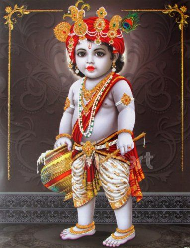 Lord Baby Krishna Images Wallpapers