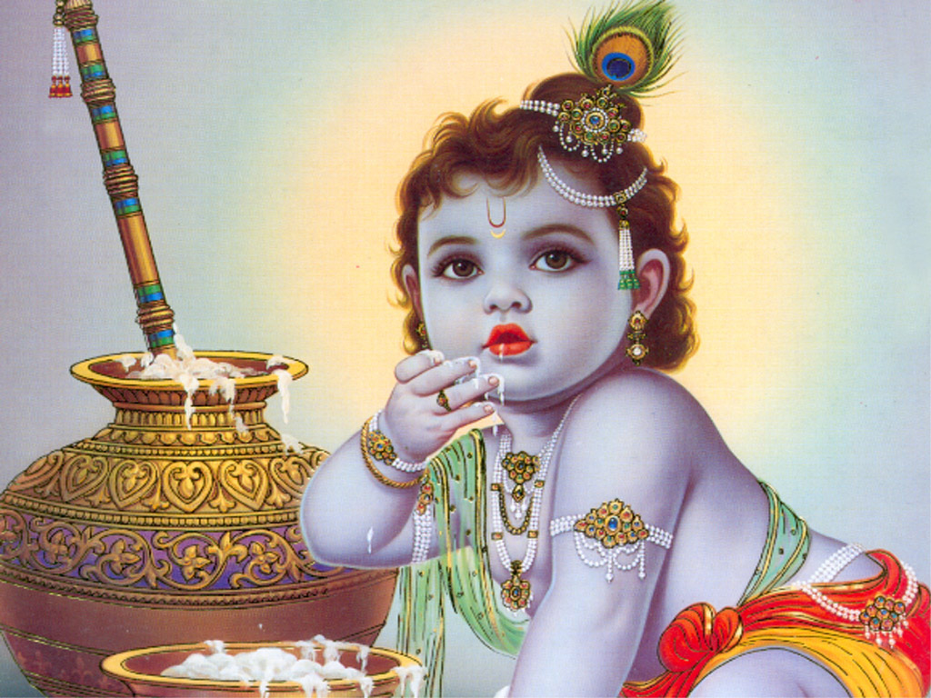 Download Lord Baby Krishna Images Wallpapers Gallery