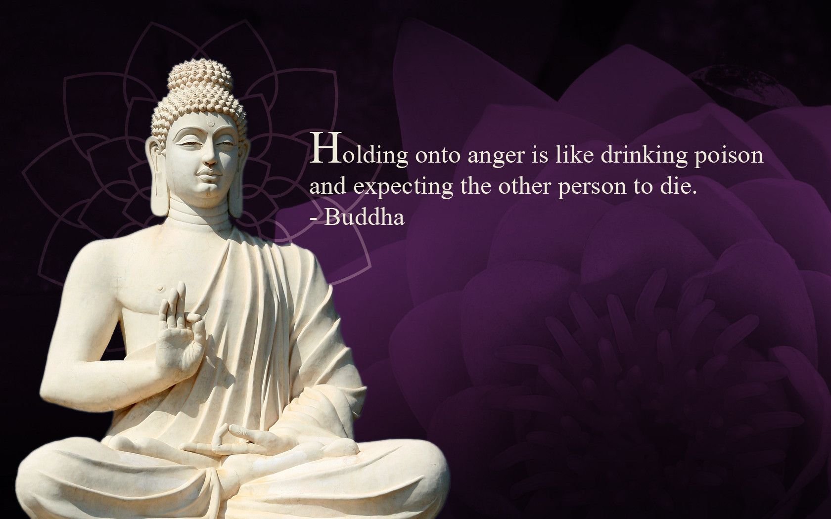 Lord Buddha Wallpapers With Quotes
